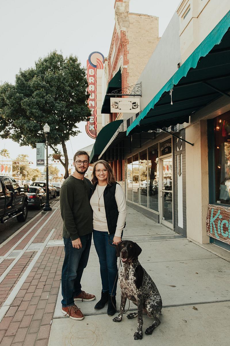dog-friendly engagement session, Joshua and Parisa | Austin Wedding Photographer and Videographer