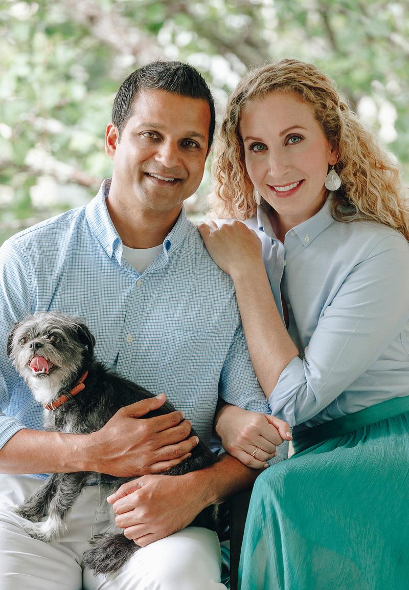 dog-friendly in home portrait session   ©Charleston Photo Art