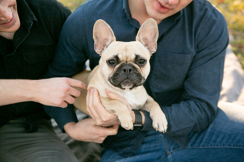 same sex couple and their dog, ©Mandy Whitley Photography | Photography for Pets and Their People