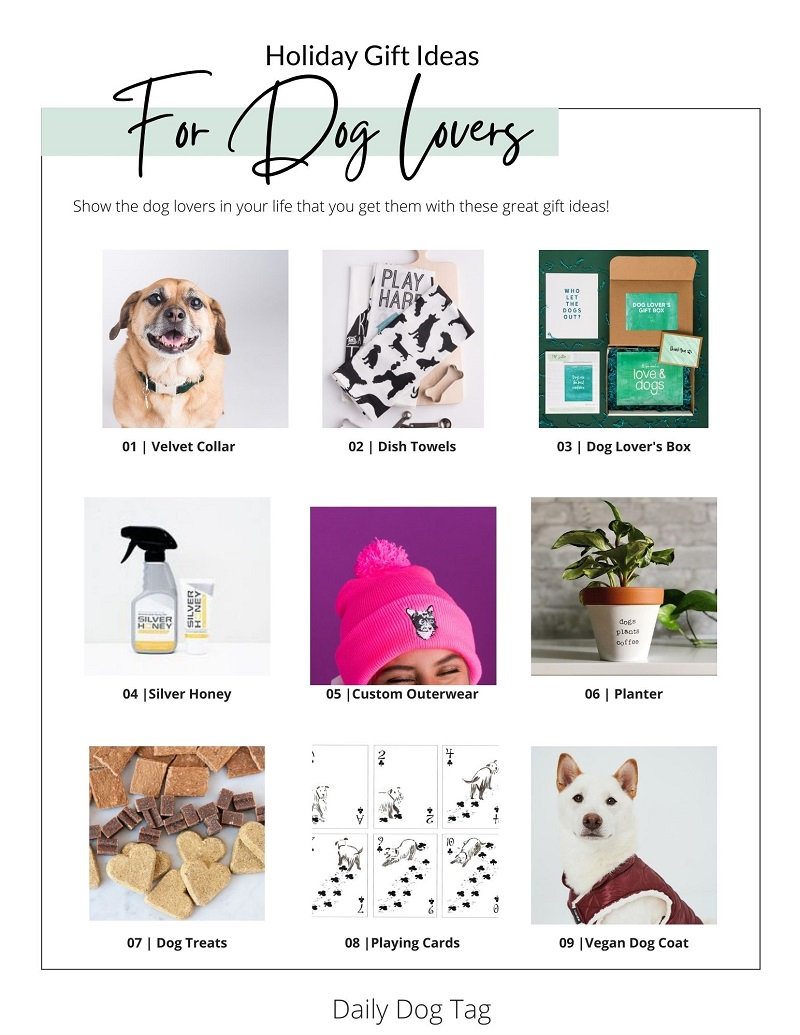 Daily Dog Tag Holiday Gift Ideas for Dog Lovers -2020