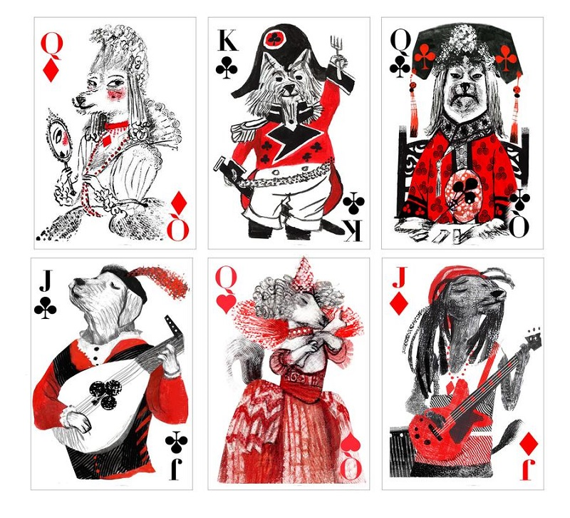 Pack of dogs playing cards | Artiphany