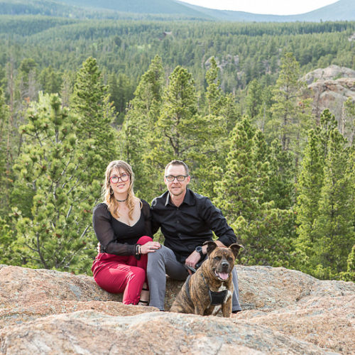 Dog-friendly Portrait Session | Allenspark, Colorado