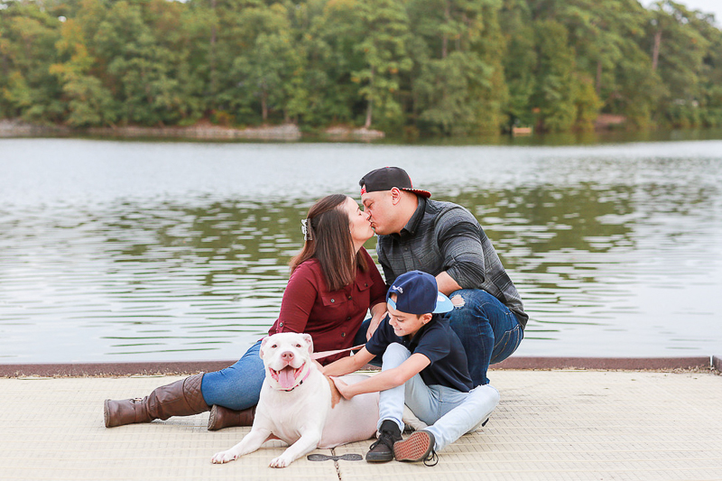 family friendly engagement session | ©Fresh Look Photography, Virginia Beach