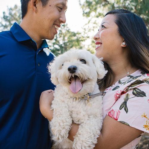 Dog-friendly Engagement Session  | Lake Cuyamaca, CA