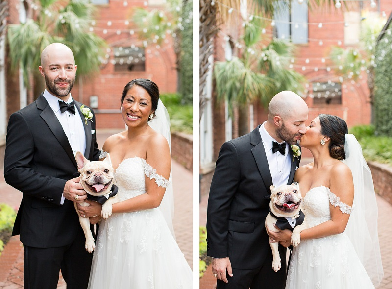 © Jessica Hunt Photography | dog-friendly wedding photography, Columbia, SC