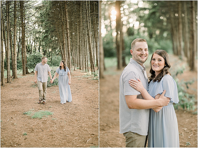 Lancaster, PA woodsy engagement session | ©John Malloy Photography