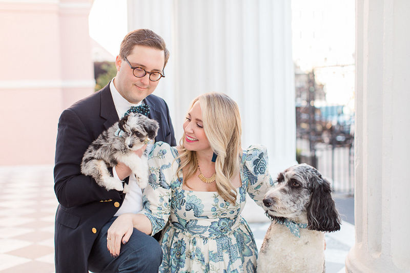 family portraits with Aussiedoodles | ©Christa Rene Photography