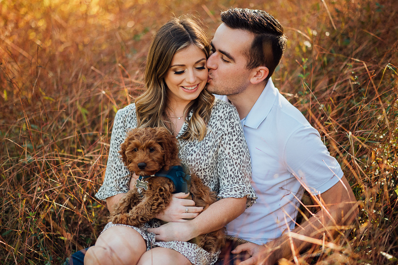 dog-friendly engagement session | ©Celladora Photography + Video