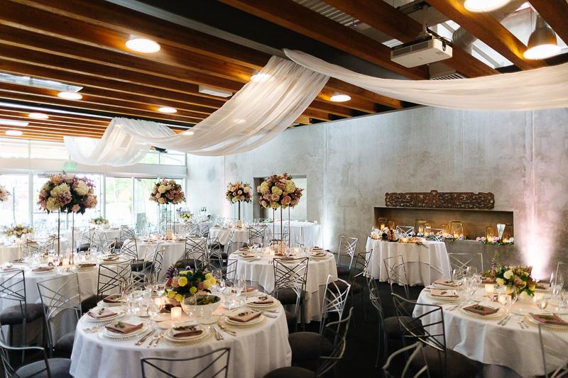 ©J Tobiason Photography   elegant wedding venue, Novelty Hill-Januik Winery, Woodinville, WA