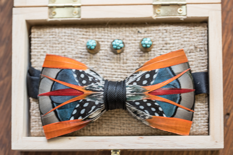 bowtie detail | Rustically Romantic Photography by Darby Johnson
