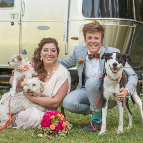 Dog-friendly Wedding   Guerneville, California