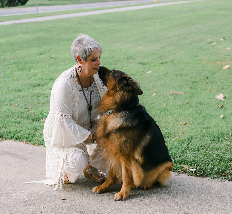 bond between woman and her dog | ©Ashley Elizabeth Photography, Mechanicsville, MD