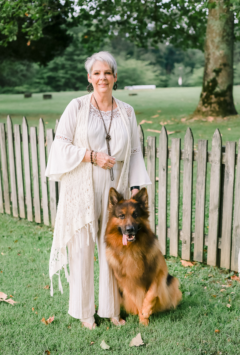 woman and her German Shepherd, dogs and people portraits | ©Ashley Elizabeth Photography, Mechanicsville, MD