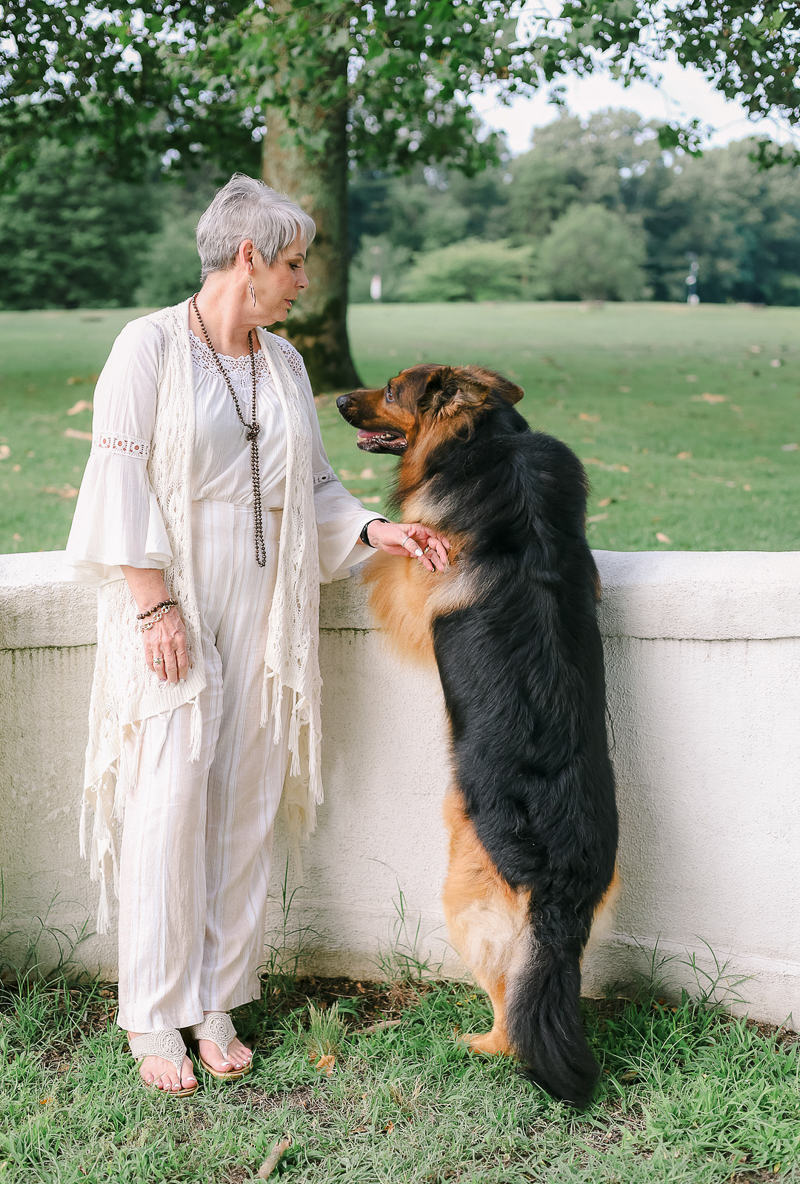 "pet photography ideas, ""girl and her dog"" ©Ashley Elizabeth Photography"