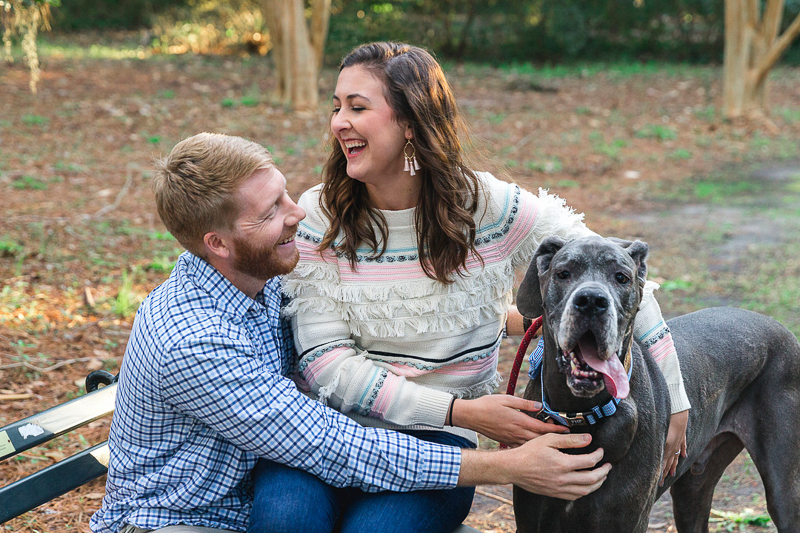 family portraits with a Blue Great Dane   ©Charleston Photo Art
