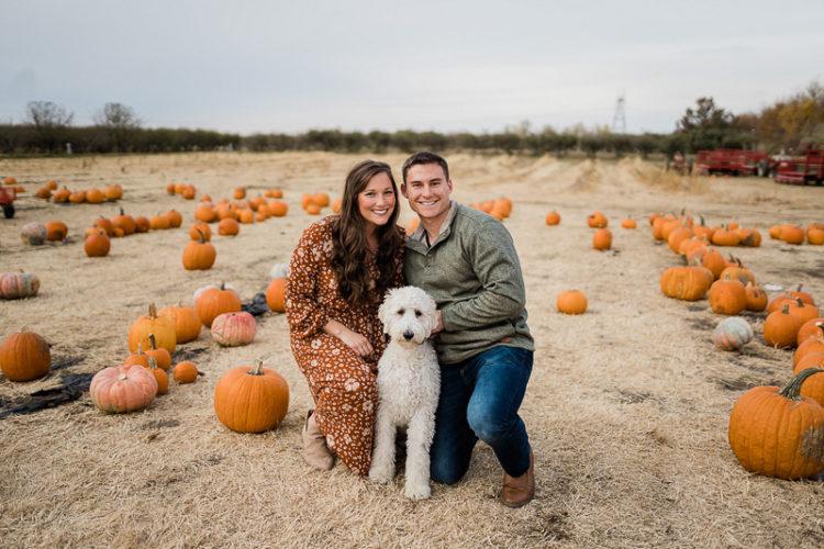 dog-friendly fall photo-shoot